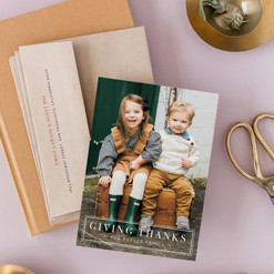 Giving Thanks, Minted.com