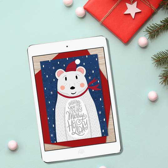 Beary Merry Holiday, Greenvelope.com
