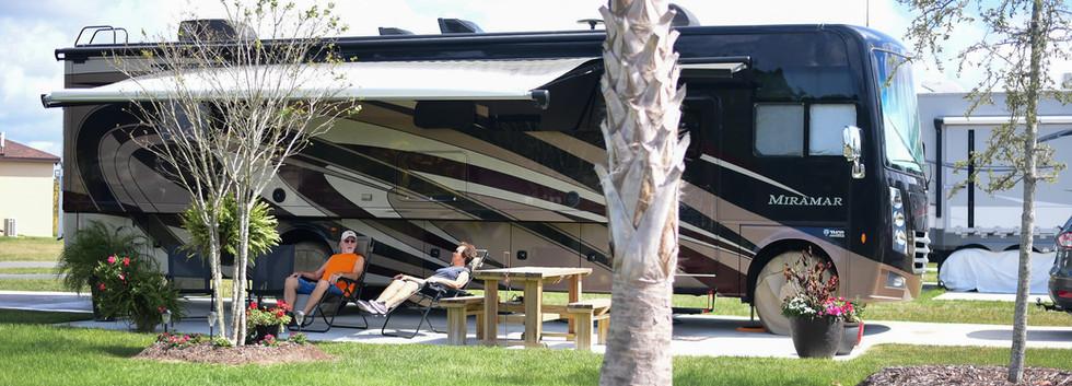 RV at Southern Leisure RV Resort 2