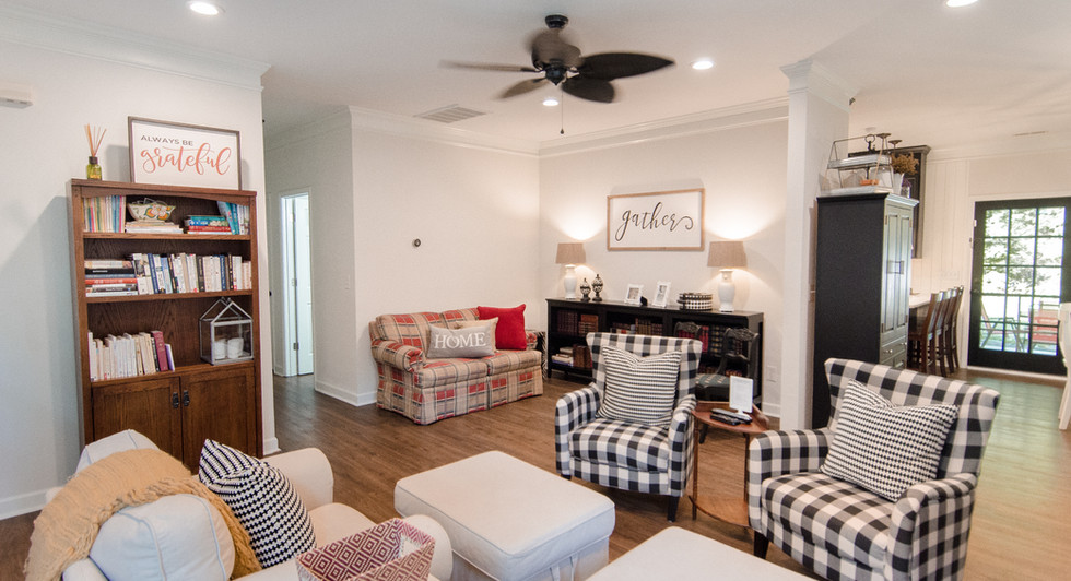 Living Room Carriker Cottage Old Haigler Inn Mint Hill NC Airbnb Charlotte NC 4.jpg