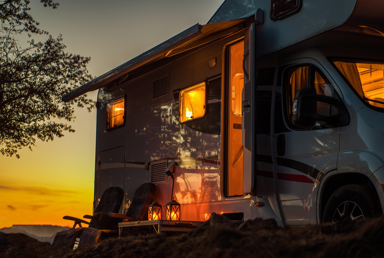 RV at Sunset | Keystone Heights