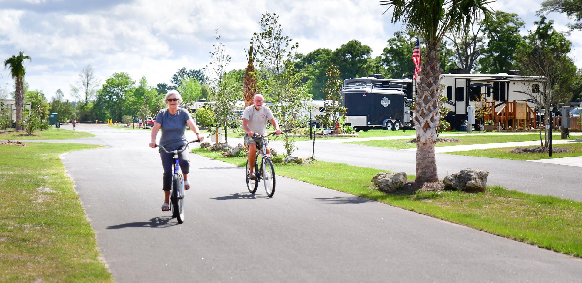 RV Bike Ride