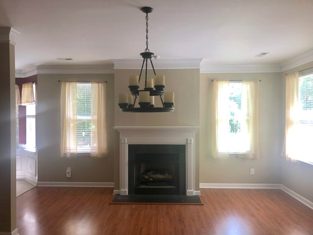 Before & After Pics of Carriker Cottage