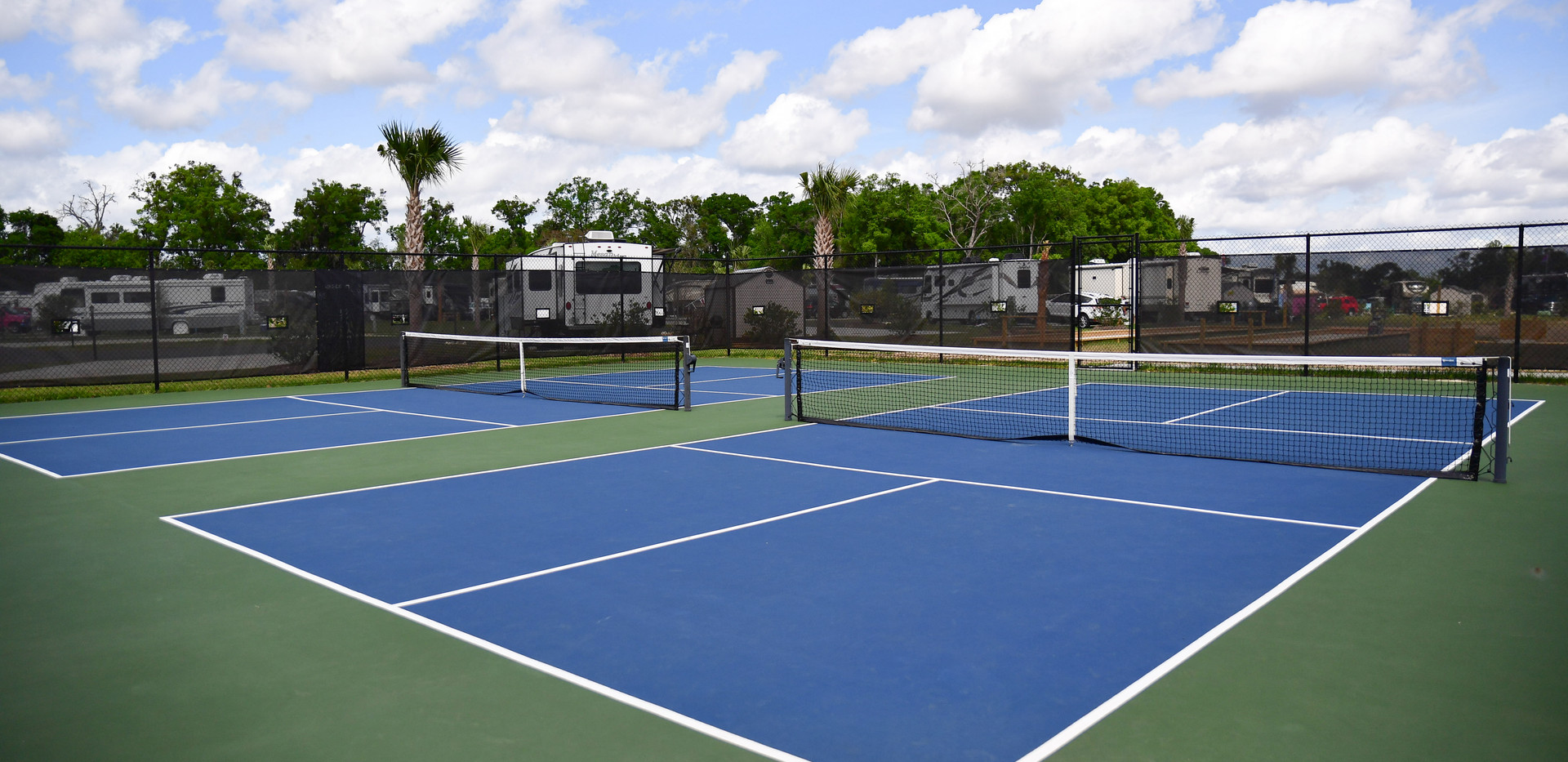 Tennis at Pickleball courts