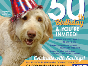 Celebrate Stanfield's 50th Birthday!