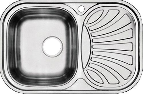 Мойка нержавеющая MP-24 750*490*180 0.65мм