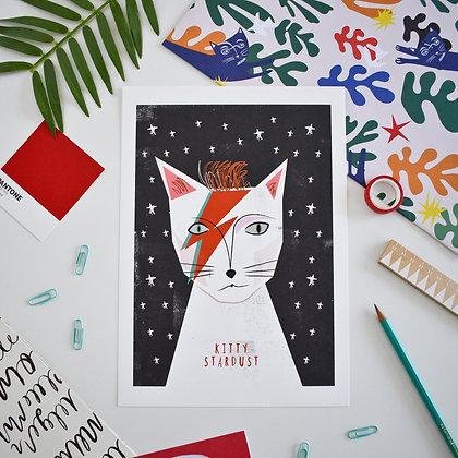 Affiche KITTY STARDUST