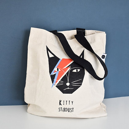 Tote Bag Kitty Stardust