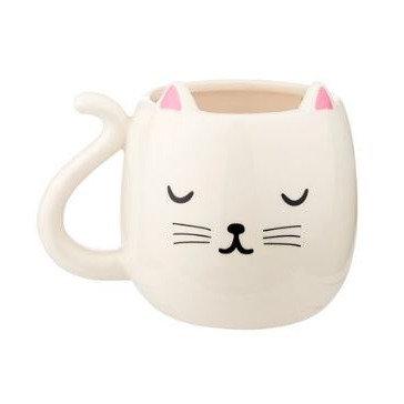 Mug tête de chat mignon