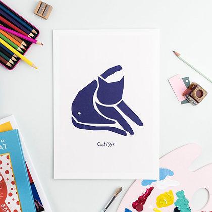 Affiche BLUE CAT