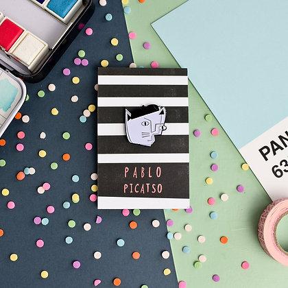 Pin's en émail PABLO PICATSO