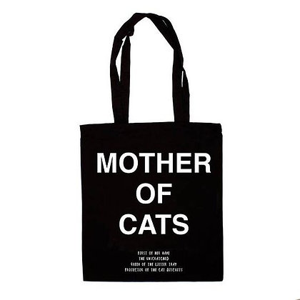 Tote Bag Mother of Cats