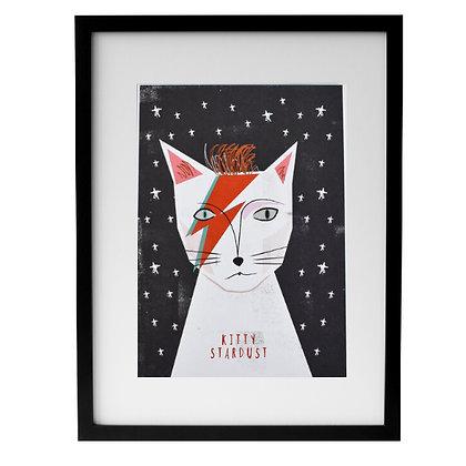Affiche KITTY STARDUST encadrée