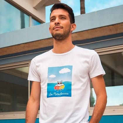 """T-shirt sérigraphié """"le baigneur"""""""