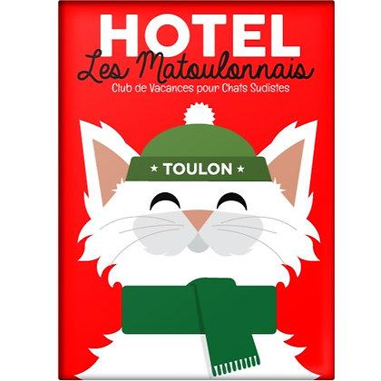 Magnet Les Matoulonnais design by Offtoulon