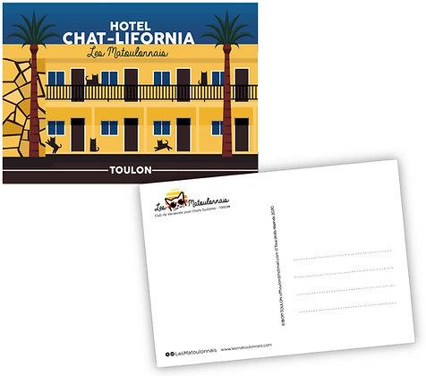 Carte Postale Hôtel Les Matoulonnais design by Offtoulon