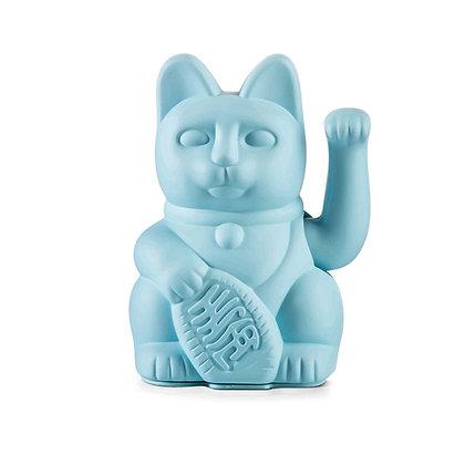 Chat chanceux | bleu