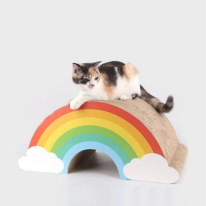 Grattoir pour chat arc-en-ciel