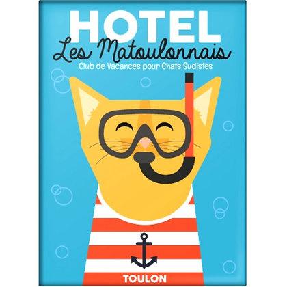 Magnet Hôtel Les Matoulonnais design by Offtoulon