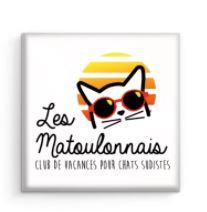 Magnet carré Les Matoulonnais