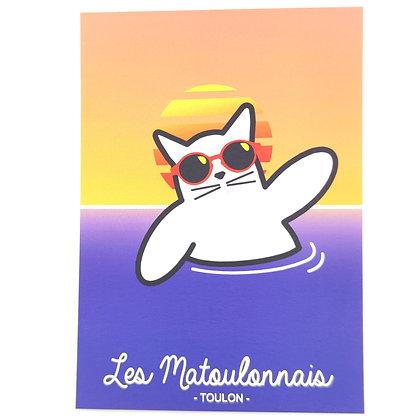 """Carte postale """"Les Matoulonnais"""""""