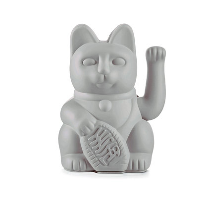 Chat chanceux | gris