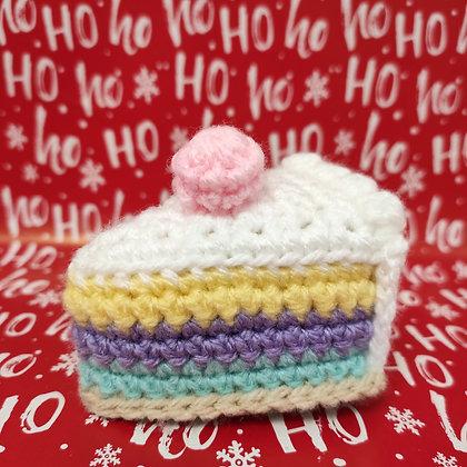 Gâteau en crochet fourré à l'herbe à chat