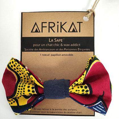 Noeud papillon pour chat Afrikat