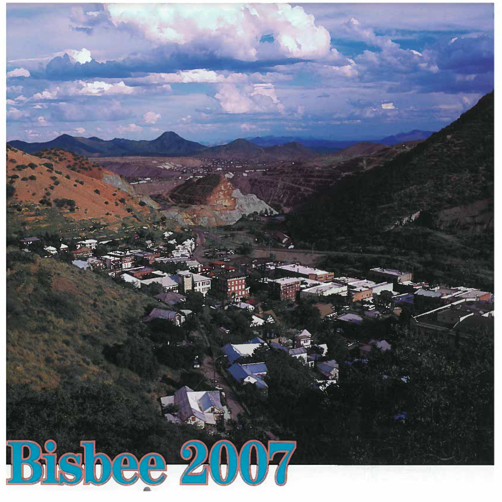 Bisbee calendar cover