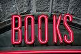 """Books"" Sign"
