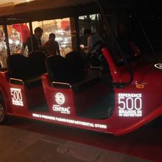 Golf Cart Fleet Branding