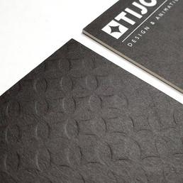 Tijo Studio letterpress business cards