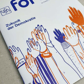 Cover of forum magazine