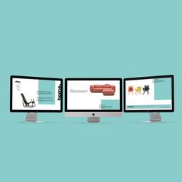 Website redesign Vitra.