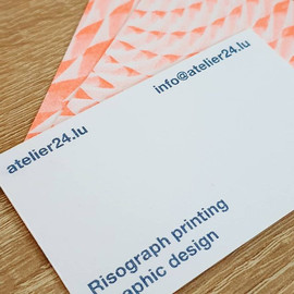 Atelier 24 business cards