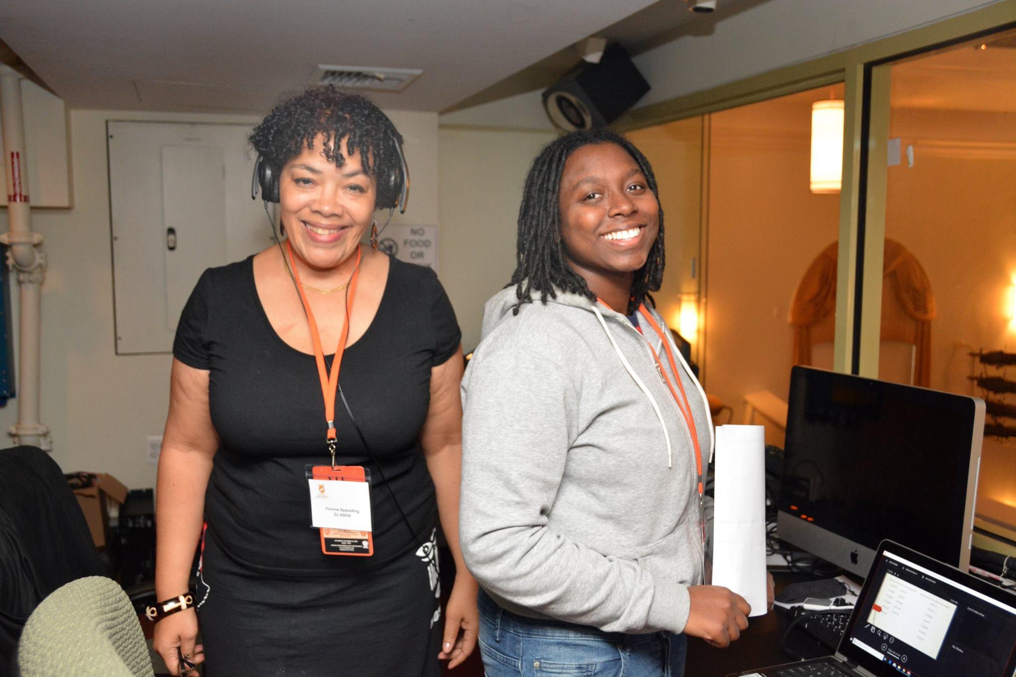 Yolanda Spaulding - DJ Asha and Erica __