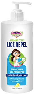 32 OZ | Surf's Up Lice Repel Daily Shampoo