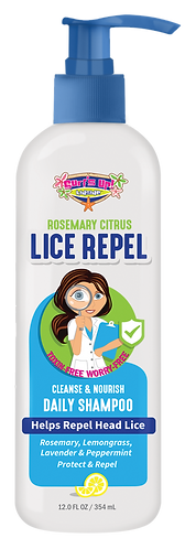12 OZ | Surf's Up Lice Repel Daily Shampoo