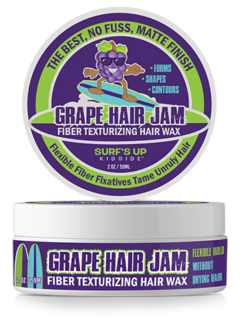 2 OZ | Grape Hair Jam Fiber Texturizing Hair Wax