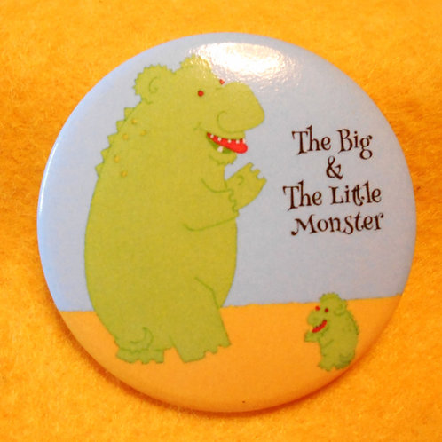 The Big & The Little Monster Badge