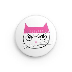 Pink Pussyhat Button (2)