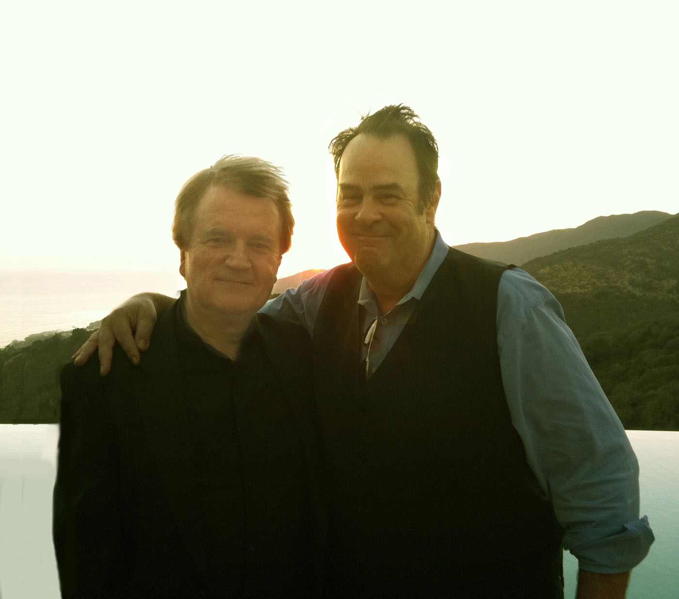 with Dan Aykroyd 2016