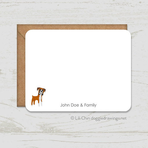 Add-On Item: Personalized set of notecards