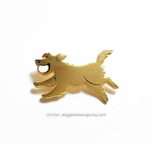GOLDEN RETRIEVER Pin
