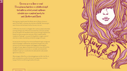 Blind Pony - Book Website