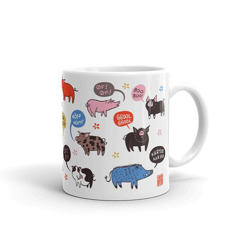 Oinking Pigs Mug