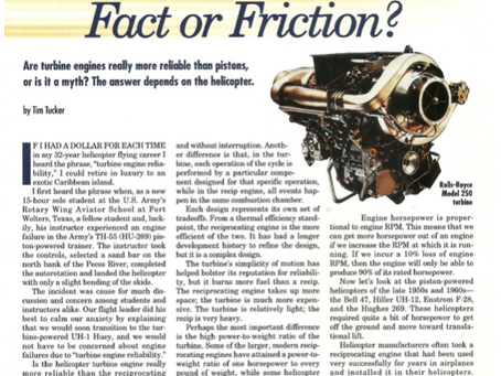 Turbine Engine Reliability: Fact or Fiction?