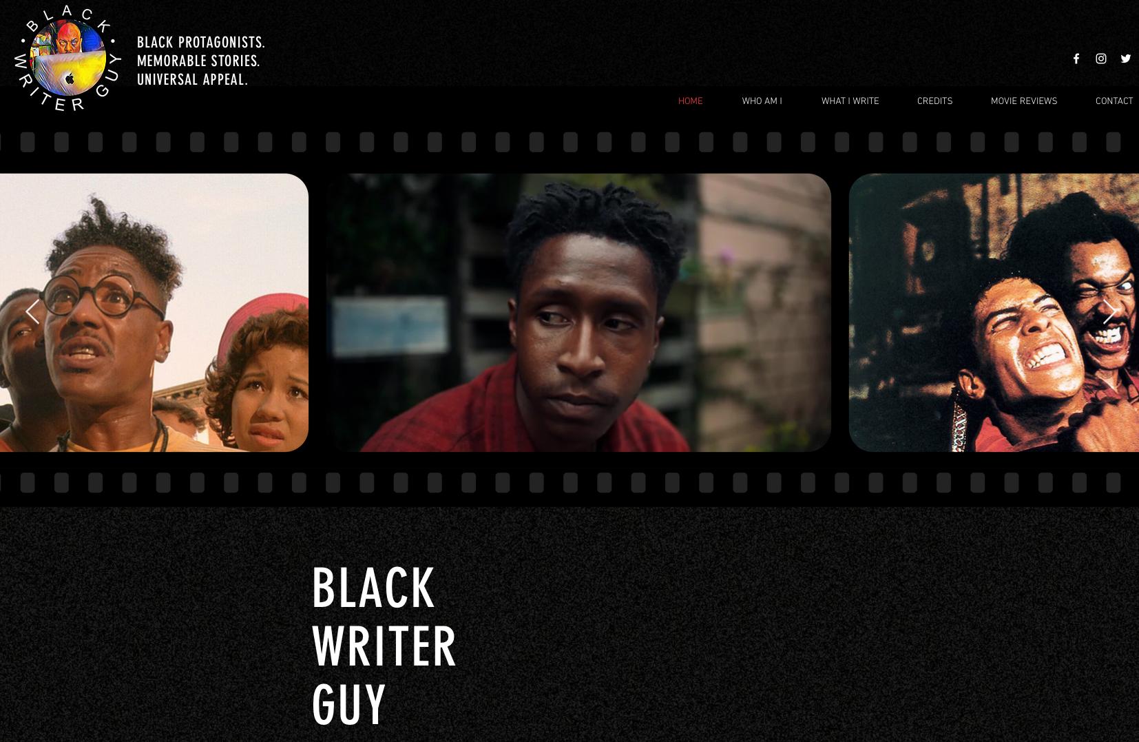 Black Writer Guy