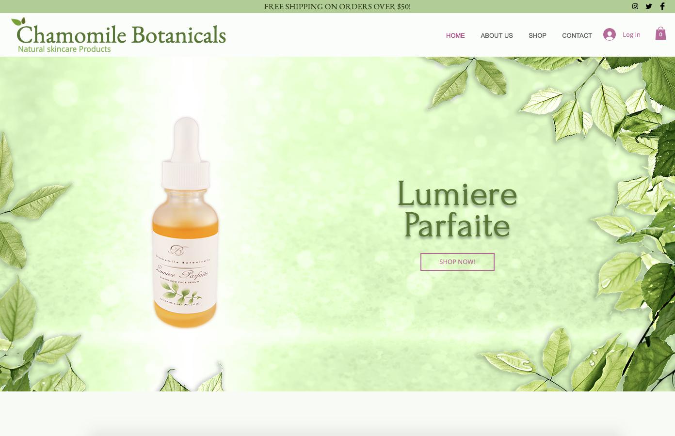Chamomile Botanicals