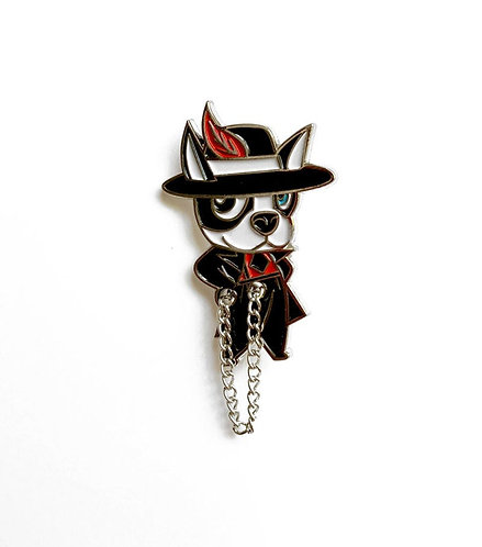 PACHUCO BOOGIE pin